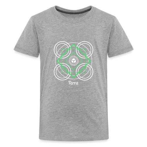 Terra Earth Element Alchemy Design - Kids' Premium T-Shirt