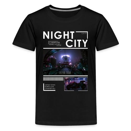 Night City Japan Town - Kids' Premium T-Shirt