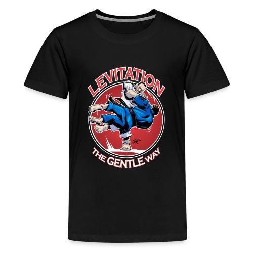 Judo Shirt - Levitation for dark shirt - Kids' Premium T-Shirt