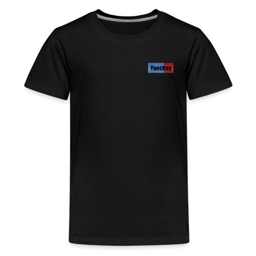 Yonchey logo - Kids' Premium T-Shirt