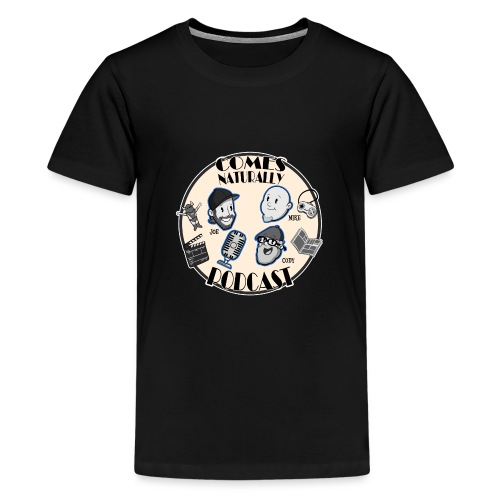 Comes Naturally Logo - Kids' Premium T-Shirt