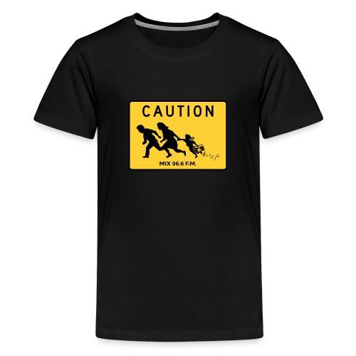 CAUTION SIGN - Kids' Premium T-Shirt