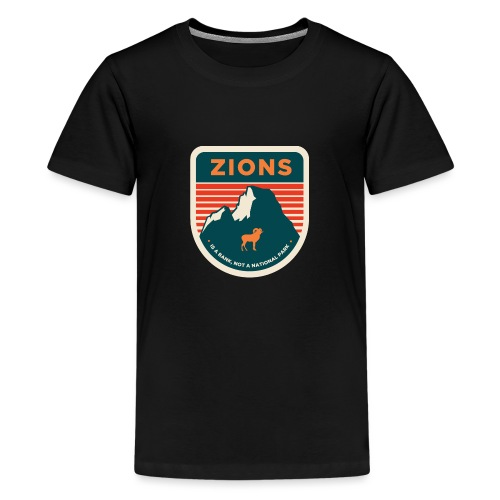 Zions Prank Badge - Kids' Premium T-Shirt