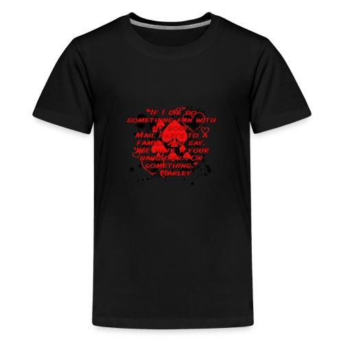 Crazy Joker Girl - Kids' Premium T-Shirt