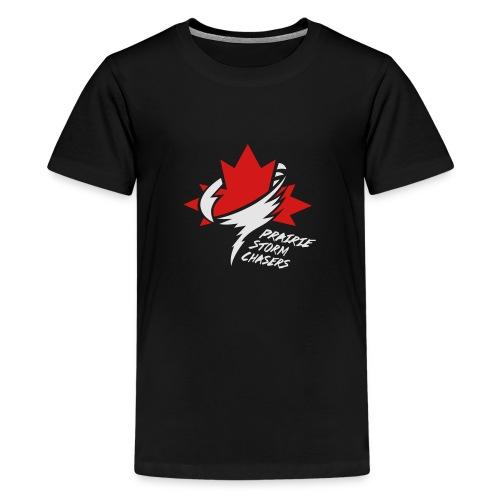 PSC_LogoOutline-colour_al - Kids' Premium T-Shirt