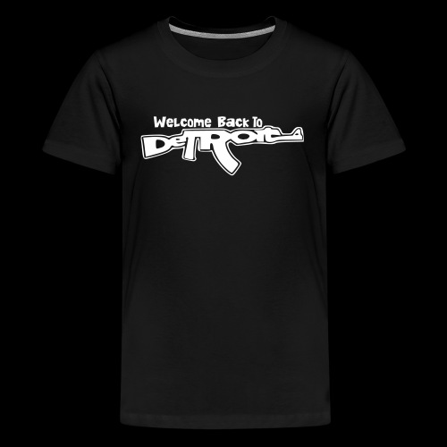 Welcome Back To Detroit - Kids' Premium T-Shirt