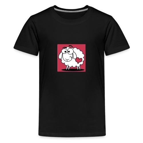SimAlley Red Sheepy Logo - Kids' Premium T-Shirt