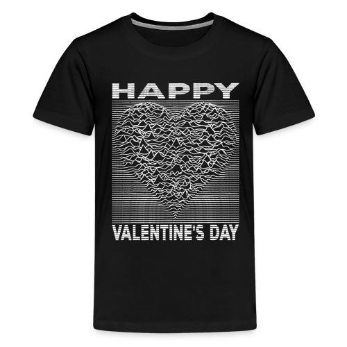 Love Lines Happy Valentines Day Heart - Kids' Premium T-Shirt