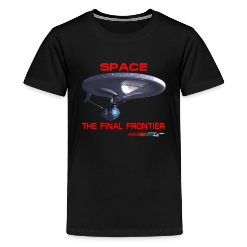 The Final Frontier Props & Ships Tee - Kids' Premium T-Shirt
