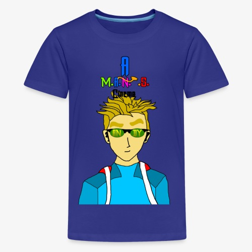 Andy For Merch MANS Cinema - Kids' Premium T-Shirt