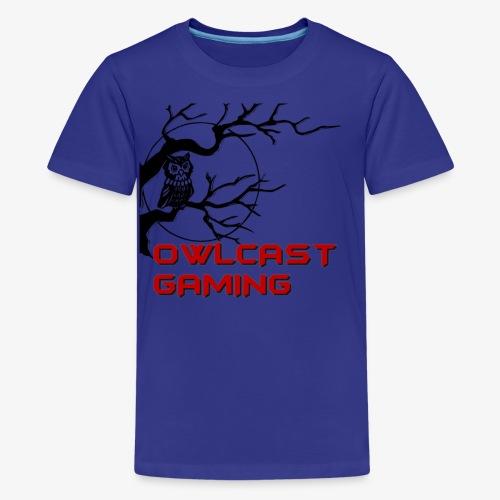 The Owlcast Merchandise - Kids' Premium T-Shirt