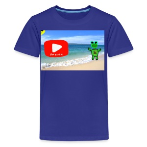 fat turtle merch - Kids' Premium T-Shirt