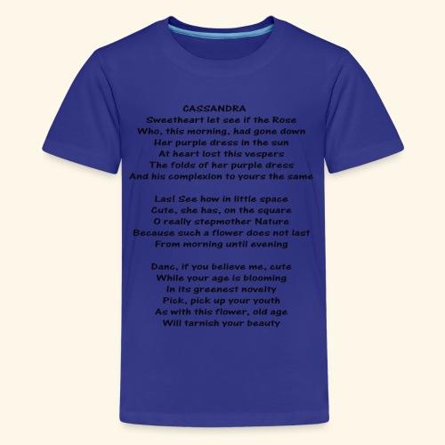 cassandra - Kids' Premium T-Shirt