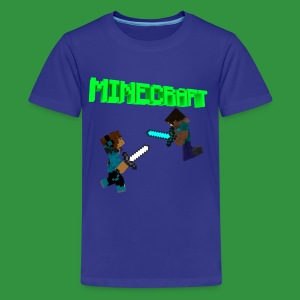 SmoothYT vs Herobrine - Kids' Premium T-Shirt