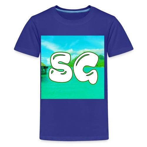 SuperGamerYT Merch - Kids' Premium T-Shirt