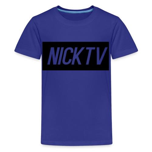 NICKTV - Kids' Premium T-Shirt