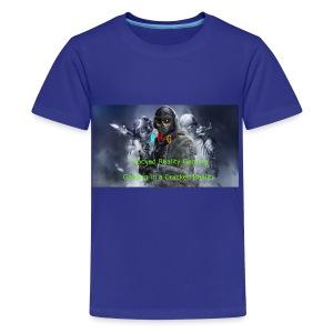 Cracked Reality Gaming Logo - Kids' Premium T-Shirt