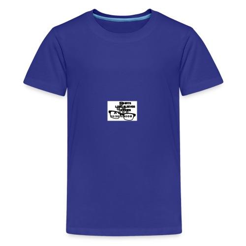 main index 2020 vision logo glasses copy - Kids' Premium T-Shirt