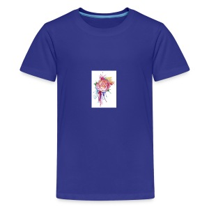 Bloom where you are planted - Kids' Premium T-Shirt