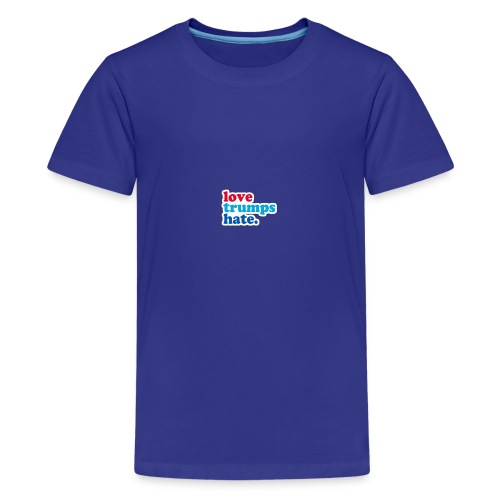 Love Trumps Hate - Kids' Premium T-Shirt