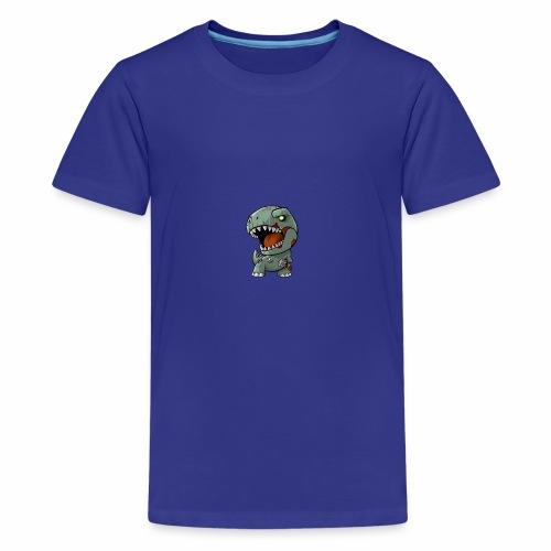 Zombie memeosauraus - Kids' Premium T-Shirt
