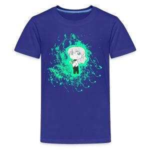 Chibi Nullify Paint Splatter - Kids' Premium T-Shirt
