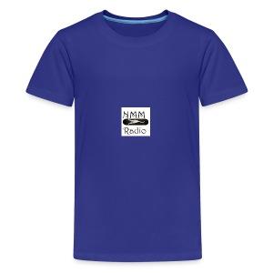 NMM stretching white cat skateboard - Kids' Premium T-Shirt