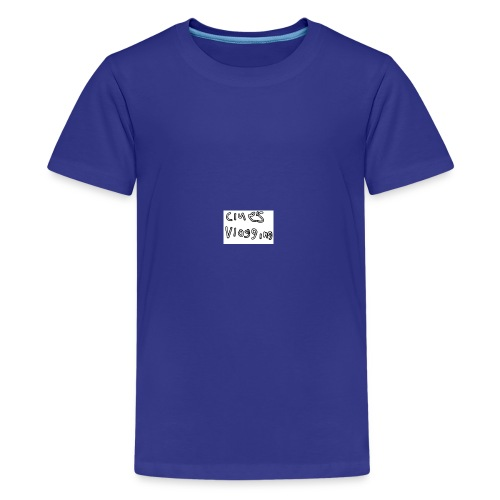Clue's vlogging official merch - Kids' Premium T-Shirt