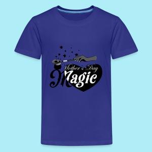 African American Mother's Day Magic (Black Star) - Kids' Premium T-Shirt