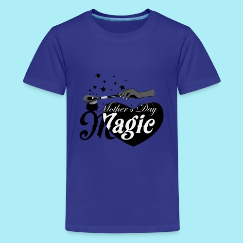 African American Mother's Day Magic (Black Star) - Kids' Premium T-Shirt