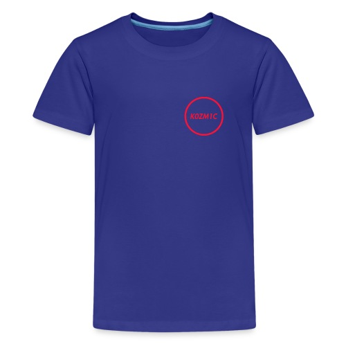 K0ZM1C Signature - Red - Kids' Premium T-Shirt