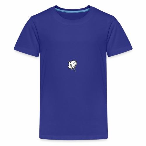 M79 MICKEY Hands Praying 197x250 - Kids' Premium T-Shirt