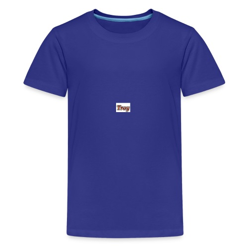 Troy Logo - Kids' Premium T-Shirt