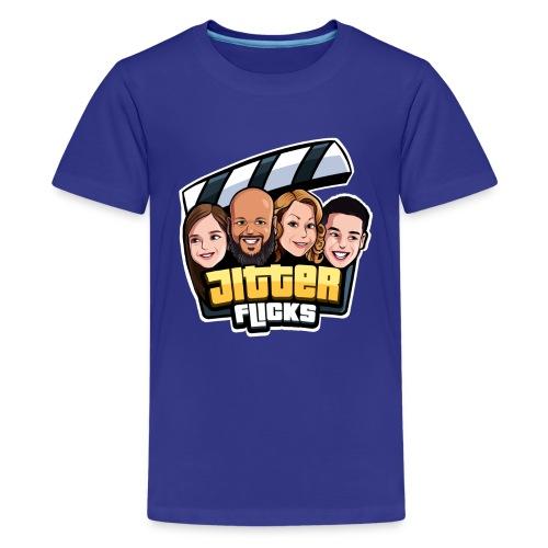 Jitter Flicks LOGO - Kids' Premium T-Shirt