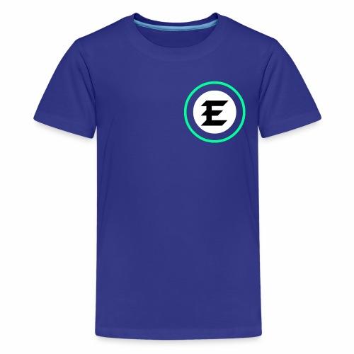 exrt green logo - Kids' Premium T-Shirt