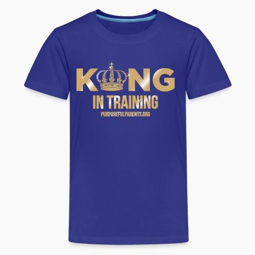 King in Training - Kids' Premium T-Shirt