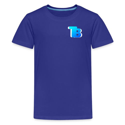 Trublu Overlapping letter Design - Kids' Premium T-Shirt