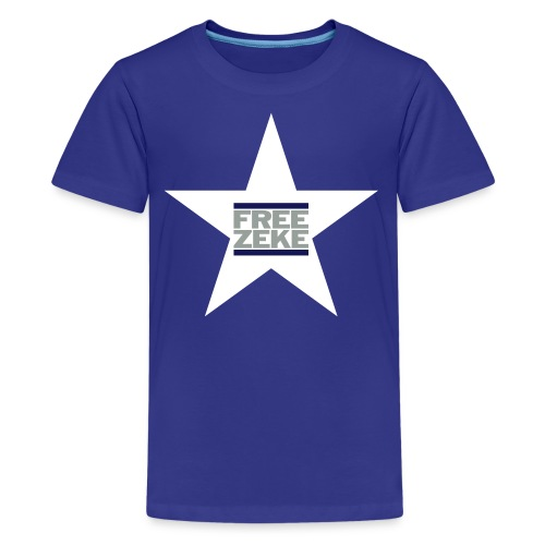 FREE ZEKE - White Star - Kids' Premium T-Shirt