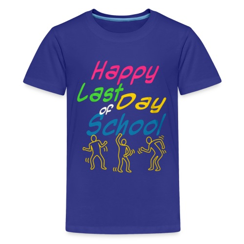 Happy last day of school - Kids' Premium T-Shirt