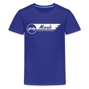 Barlow Adventures Moab Logo - Kids' Premium T-Shirt