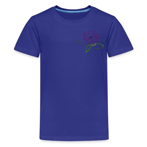 as lotus flower - Kids' Premium T-Shirt