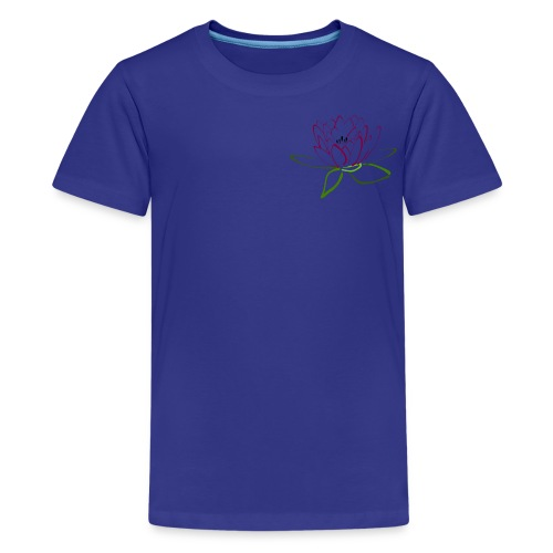 as lotus flower - Kids' Premium T-Shirt