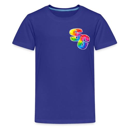 ShortyGamez Rainbow LOGO - Kids' Premium T-Shirt