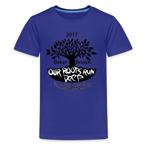 Baker Brown Family Reunion - Kids' Premium T-Shirt