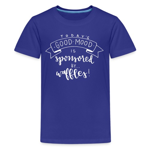 Sponsored by Waffles - Kids' Premium T-Shirt