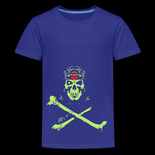 Halloween And Danger Design - Kids' Premium T-Shirt