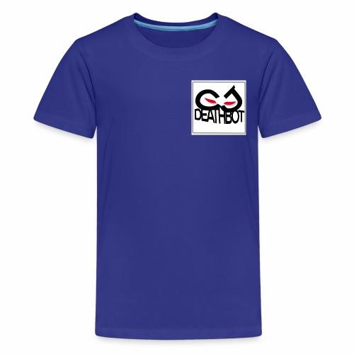 CJ DEATHBOT logo - Kids' Premium T-Shirt