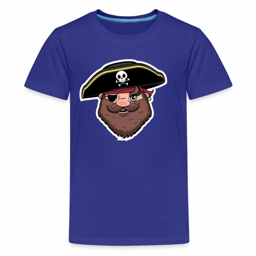 Cereal Pirate - Kids' Premium T-Shirt