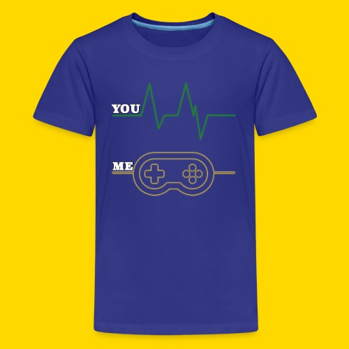 Gamer Heart beat - Kids' Premium T-Shirt