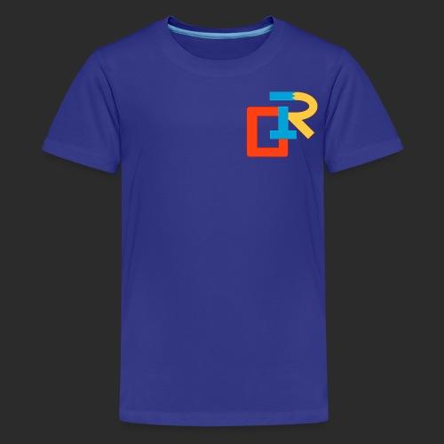 COLORED RIGANG LOGO - Kids' Premium T-Shirt